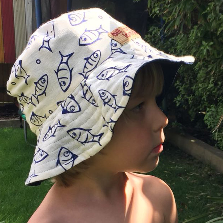 Reversible Cotton Hat (Childs)